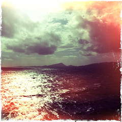 north uist, from the ferry