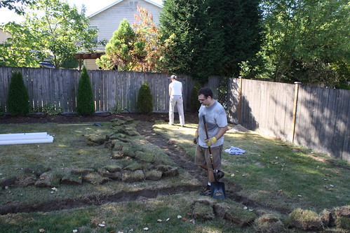 Ian Digging
