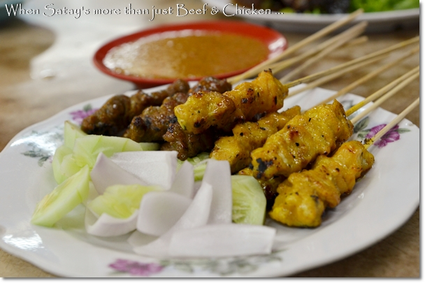 Mutton & Pork Satay