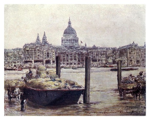 020- San Pablo-The Thames-1906- Mortimer Menpes