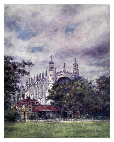 017- Capilla de Eton-The Thames-1906- Mortimer Menpes