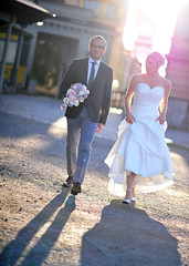 On their way... (pellephoto) Tags: wedding marie nikon sweden stockholm södermalm tomas d3s