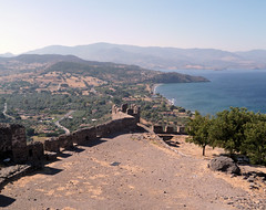 074 view from the top (Mark & Naomi Iliff) Tags: greece ελλάδα lesvos lesbos λέσβοσ mithymna μηθυμνα molyvos μολυβοσ castle καστρο ελλαδα
