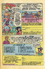 """House ad from Archie #283 (August 1979), the issue that promoted the fraudulent charity """"International Children's Appeal"""" (Gary Dunaier) Tags: charity comics betty veronica comicbooks archie fraud jughead internationalchildrensappeal"""