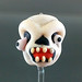 Single bead : Halloween skull