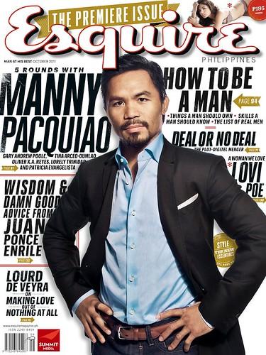 Esquire Philippines - Manny Pacquaio