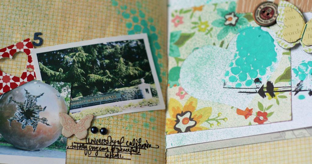 minibook sneak-studio calico field guide