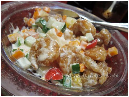 LiLi 07 Hot Prawn Salad