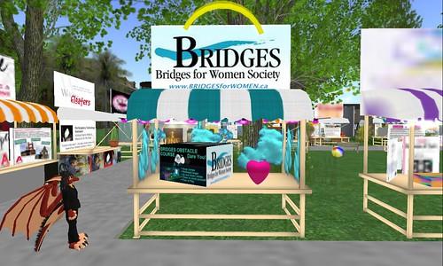 Bridges booth NPC 4th anniversary