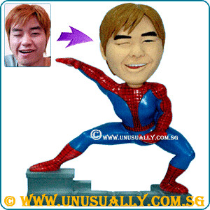 Custom 3D Spiderman Figurine