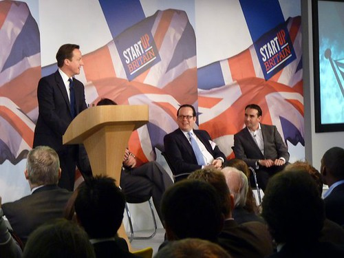 StartUp Britain with David Cameron