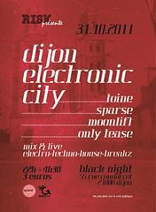 Dijon Electronic City @ Black Night (Dijon) // 31.10.2011 (...::: RISK :::...) Tags: city mix dj risk dijon live electronic blacknight guls teknet sparsefr
