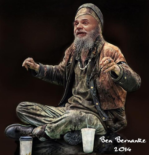BERNANKE 2014 by Colonel Flick