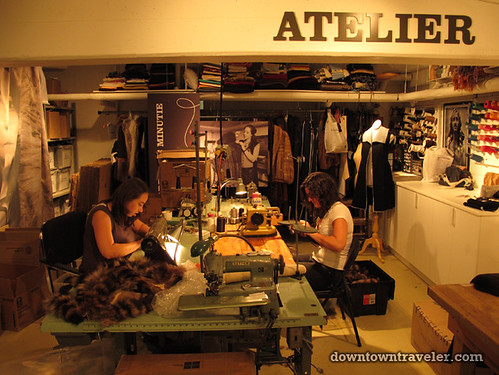 Harricana fur atelier in Montreal