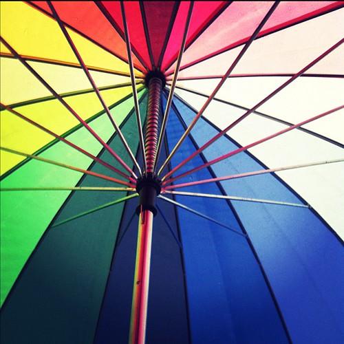 Under the rainbow sun