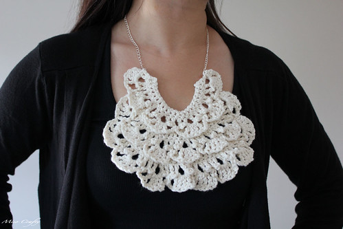 Ruffled Bib Necklace 3