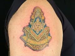 masonic (Independent Tattoo) Tags: suntattoo independenttattoo masonictattoo rulertattoo tattoobytres