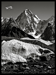 gasherbrum IV (7912m) (doug k of sky) Tags: pakistan 2 doug 4 glacier ii karakoram iv karakorum baltoro gasherbrum mountainscapes kofsky