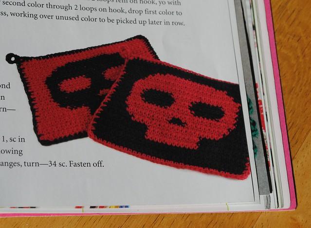 Skullholders!  Next pattern!