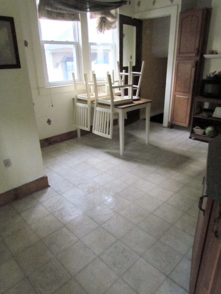 Clean Kitchen Floor