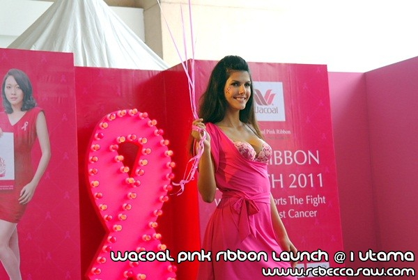 Wacoal Pink Ribbon Launch @1 Utama-3