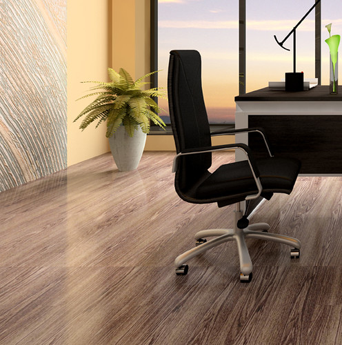 Koydol Resilient Tile Flooring: All-Wood Collection