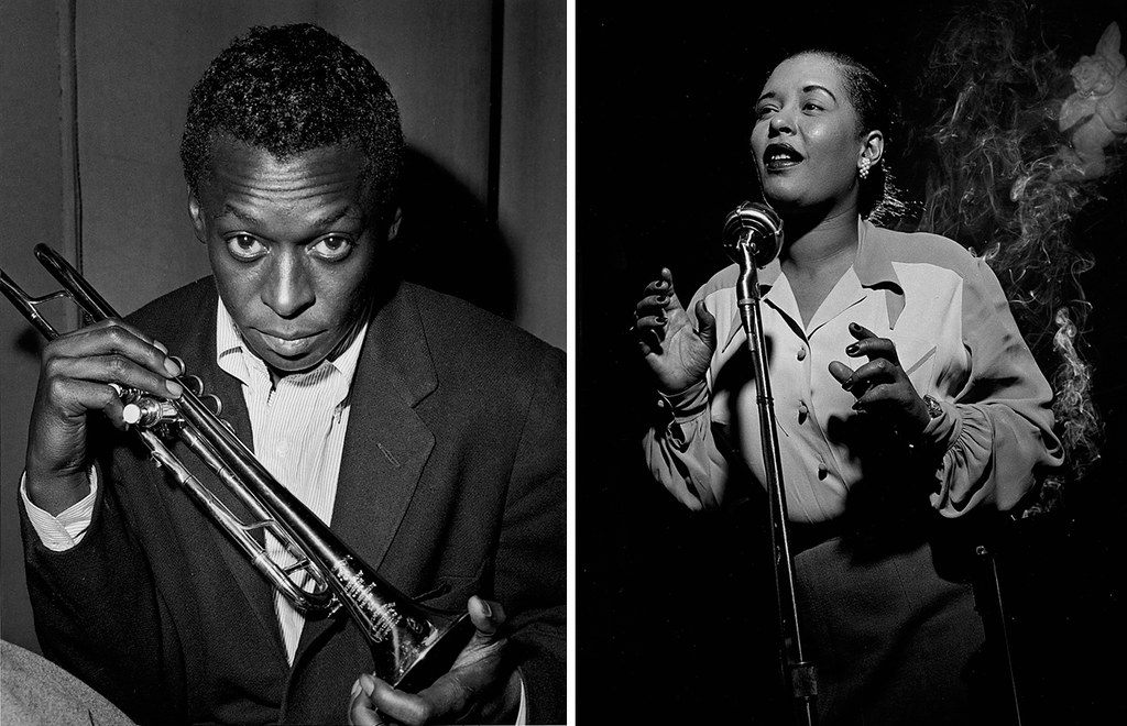 Miles Davis Billie Holiday