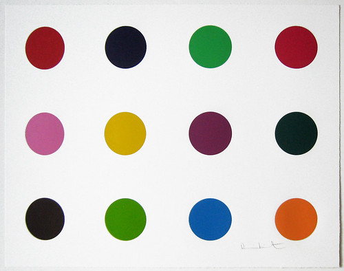 Damien Hirst Methionine Color Woodcut In Pristine Condition
