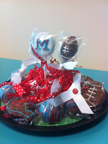 Ole Miss Cake Pops 2