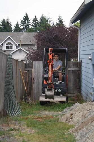 Excavator In