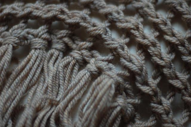 beeton counterpane shawl - fringe