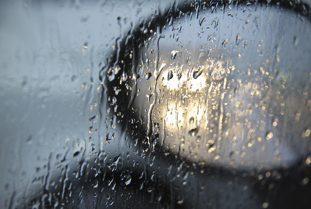 Heavy rain...