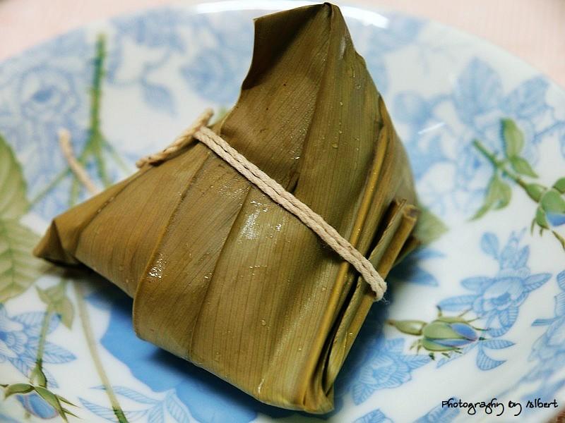 內灣.鵝姐野薑花粽:三色粽