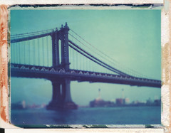 (jeffreywithtwof's) Tags: nyc newyorkcity bridge film jeff analog polaroid back manhattan 405 eastriver type instant hutton expired 108 graflex 999 packfilm jeffhutton jeffhuttonphotography jeffreyhutton