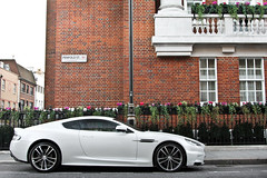 Elegance. (Alex Penfold) Tags: auto camera white london cars alex sports car sport mobile canon silver photography eos photo cool flickr shot martin image awesome flash profile picture super spot exotic photograph spotted hyper rims mayfair coupe supercar aston spotting exotica sportscar sportscars supercars dbs penfold spotter 2011 hypercar 60d hypercars alexpenfold