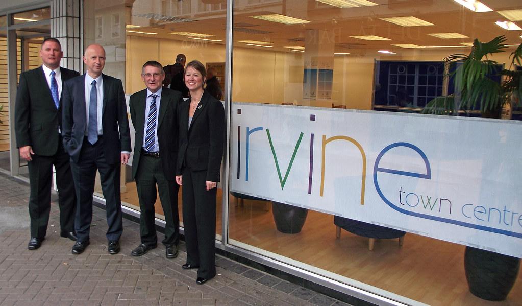 Multi-million pound Irvine town centre plans on show