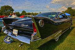 Plymouth Fury HDR 2 (hz536n/George Thomas) Tags: summer canon lab michigan plymouth orphan canon5d mopar upnorth hdr fury carshow frankenmuth smrgsbord 2011 autofest labcolor ef1740mmf4lusm cs5 pixelbender hz536n