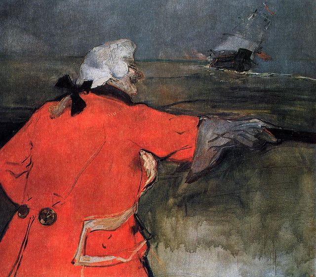 TOULOUSE-LAUTREC (1901) Admiral Viaud
