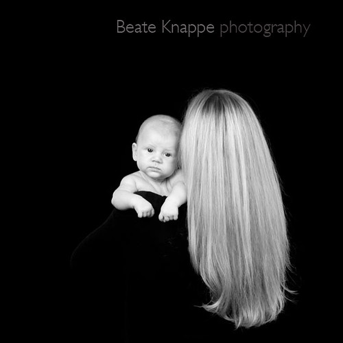 Philipp and his mother by Beate Knappe