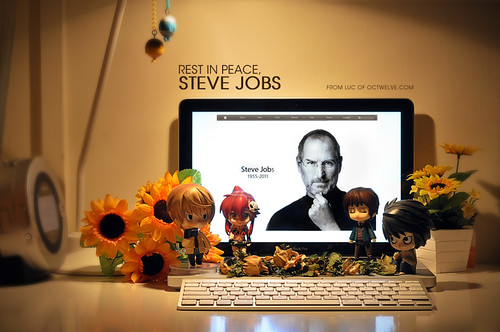 A tribute to the coolest nerd. Long live, Steve Jobs!