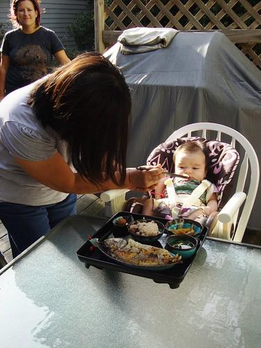 Grandma Feeding Izzy