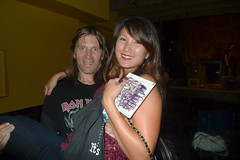 Me & Evan Dando (FreezeYourMind) Tags: show evan music philadelphia its rock bar star concert ray tour live album north pa about venue shame dando lemonheads