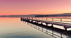 Sunset at Lake Illawarra [Explored] (Taha Elraaid) Tags: sunset lake beautiful canon image australia nsw 7d taha wollongong illawarra thegong wollongongcity elraaid tahaphotography tahaelraaid