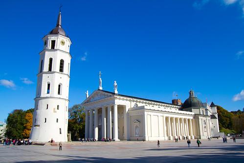Vilnius, la sua bella cattedrale :)