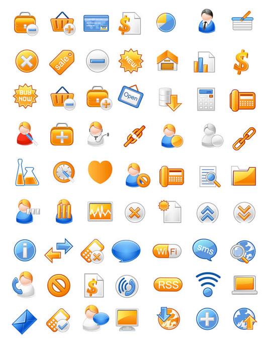 Iconos para Ecommerce (Tienda Virtual)