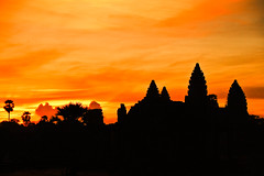 Sunrise over Angkor Wat 3 (mendhak) Tags: red sunrise private geotagged colorful cambodia angkorwat forgotten archives siemreap epic blazing geo:lat=1341202222 geo:lon=10386255944