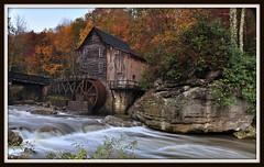 Glade Creek Grist Mill (jim-dude) Tags: autumn fallcolors westvirginia gristmill beautifulday gladecreek babcockstatepark wildandwonderful