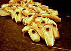 8/365 golden ballet shoes (雯菇) Tags: ballet golden sydney wen 365 operahouse balletshoes project365 d7000 ~≧▽≦~icelemontea 雯菇