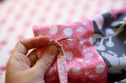 Lined Drawstring Bag Tutorial - In Color Order