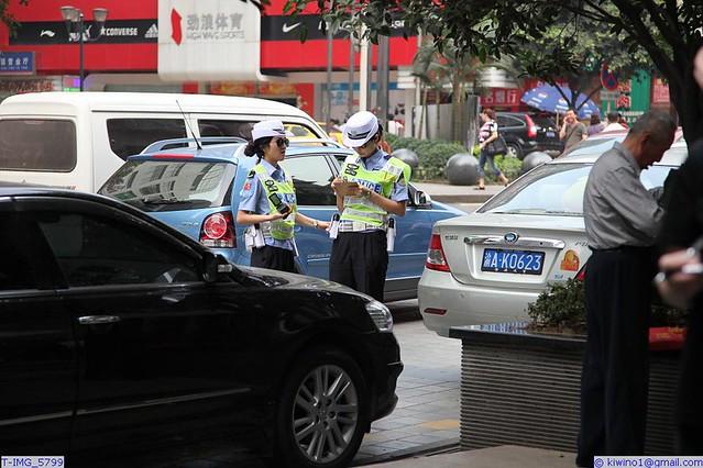 Polisen i arbete